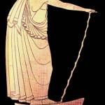 Rhapsode et son bâton