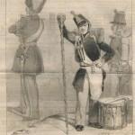 canne de tambour-major par Charles Vernet (1847)