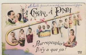 carte postale La canne à papa - 1