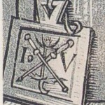 le monogramme du Maître aux bourdons croisés