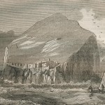 Le rocher de Bass-Rock en Ecosse (1834)