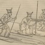 Patineurs norvégiens en 1835