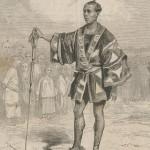 Sergent de ville à Yédo au Japon en 1860