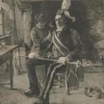 UN PERSONNAGE tableau de Darien 1902