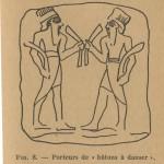 bâtons à danser assyriens