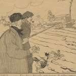 bâton qui désigne le progrès (1918)
