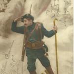 Un Diable bleu en 1916