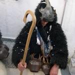 Un Vieux de Skyros et son bâton