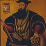 Vasco de Gama et son bâton