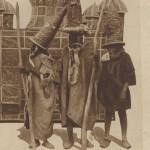 derviches marocains et leurs bâtons en 1918