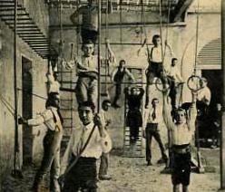 Gymnastique à Figueras