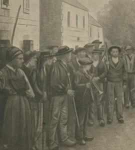 Habitants de St-Méen et leur pen-baz - 1