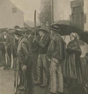 Habitants de St-Méen et leur pen-baz - 2