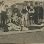 Le jeu américain du halage en 1908