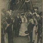 Voûte de faucilles de l'Ordre des Druides