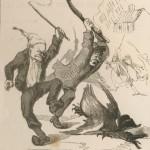 Chasse à l'oie politique en 1849