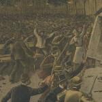 Emeute à Paris en juillet 1893