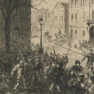 Emeute d'Anvers en 1872 contre le comte de Chambord