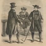 Cannes d'hommes de la Forêt-Noire en 1860