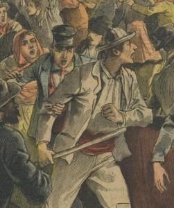 Emeutes en Belgique 1893 - 2