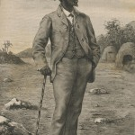 Le roi Sepopo en 1875