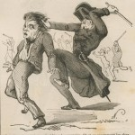 Chartiste anglais rossé par Louis-Napoléon Bonaparte
