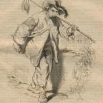 Le marchand de mort-aux-rats par Gavarni