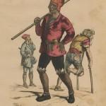 Ramoneur du  XVe siècle