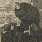 Saint Leufroi corrigeant le démon