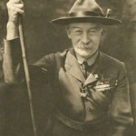 Lord Robert Baden-Powell et son propre staff  en 1929
