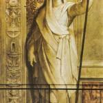Bâton trompe-l'oeil au Vatican par Raphaël