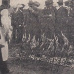 Baguettes porte-poissons à Munich en 1906