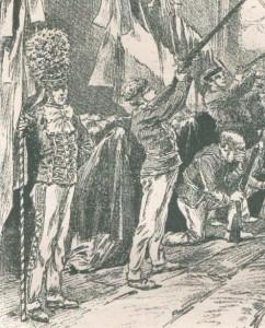 Tambour-major au Pays Basque à la Fête-Dieu 1906 - 1