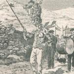 Tambour-major au Pays Basque à la Fête-Dieu 1906 - 2