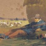 Berger et son bâton par Le Pippre