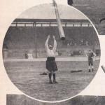 lancer du caber en 1910 - 2