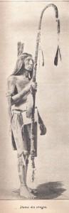 Bâton des Indiens Arapahos - 1