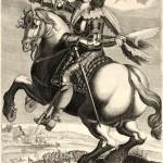 Charles de la Porte duc de la Meilleraie tenant son bâton de maréchal