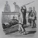 Coups de bambou en Chine en 1845