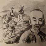 Géomancien chinois (1845)