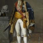 Le maréchal Lefebre et son bâton