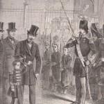 Revue des pupilles de la garde impériale en 1861