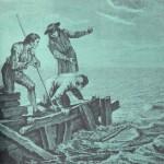 Le chameau et les bâtons flottants - gravure