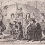 Le dernier binot de sarrasin à Condé-sur-Noireau en 1861