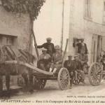 Les Noces du Roi de la Canne à  Eymeux et St-Lattier (38) en 1927