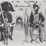 Louis-Napoléon Bonaparte et son gourdin en 1848