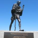 Statue de Gandhi à San Francisco