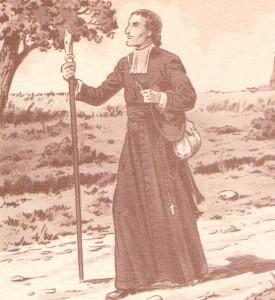 Bâton de saint Grignion de Montfort -2