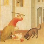 Bâton contre chien enragé à Sienne au XIVe siècle