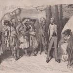 Les Anglais devant Hadgi-Stavros et ses brigands